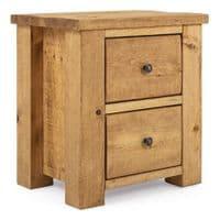 Coleridge Rustic Bedside Table | Funky Chunky Furniture